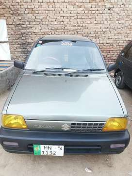 Suzuki mehran original hundred percent engine body suspension ok