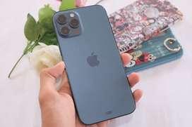 Iphone 12 pro max 128gb pacific blue garansi tam
