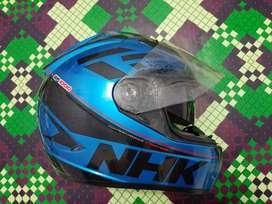Helm NHK GP1000 Fullface Double Visor