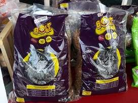 Makanan Kucing (BOLT, CAT CHOIZE, PRO DIET)