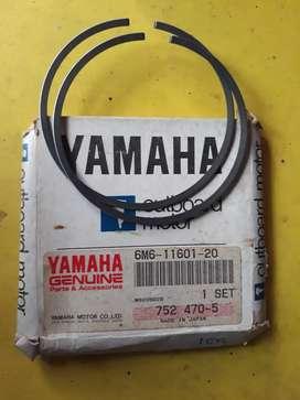 Ring piston mesin tempel yamaha outboard marine
