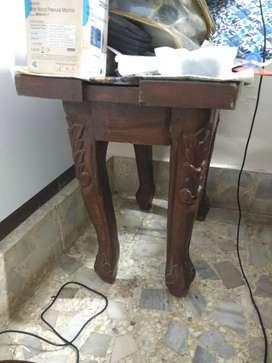 Teakwood Carved Bed side Tables for sale