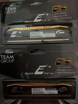 Team Elite Plus DDR3 2 x 4GB PC 1600 ( 12800 )