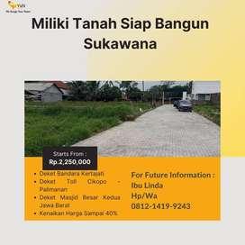 Tanah Sukawana Villa's Samping Jalan Utama Di Kertajati Majalengka