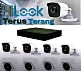 Cctv full HD/ paket lengkap kamera 2 mp_ free instalasi_