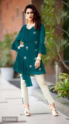 Georgette Kurta pant set for women