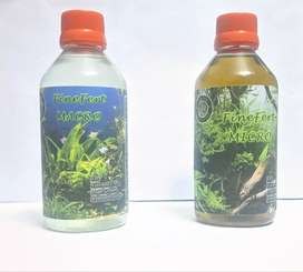 Macro and micro Nutrients for planted Aquarium (200+200ml)