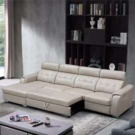 Lounge sofa come bed Emi Available Asif Furniture factory brand new