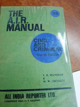 A I R Manuals volume 1 to 35