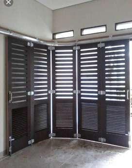 Jasa Las terkenal membuat pintu garasi