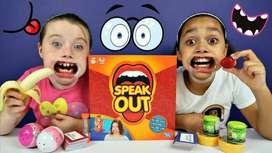 Speak Out Games Mainan Mulut Besar Mainan