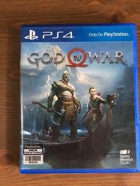 Kaset ps 4 god of war