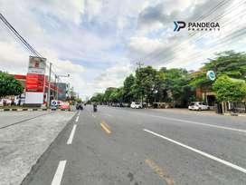 Tanah Tengah Kota Jogja Cocok Apartemen di Jl. Hos Cokroaminoto