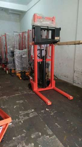 hand lift hand stacker 1-2ton hand palet dan semi electric stacker COD