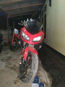 Ninja 250cc fi merah 2014