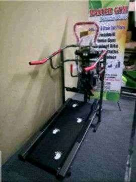 Alat Fitness Sports Manual 6 Fungsi Treadmil Manual