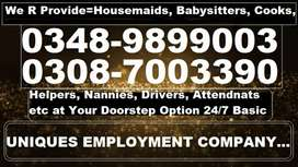 HOUSEMAIDS are Fully VERIFIED Well GROOMED & Responsible to Housekeep
