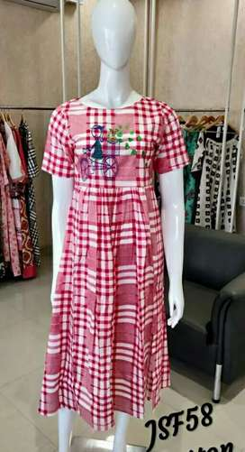 Fancy Women's Printed Kurti,  cod available