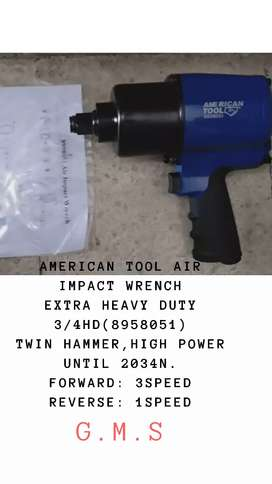 American Tool Air Impact Wrench Extra Heavy Duty 3/4Dr