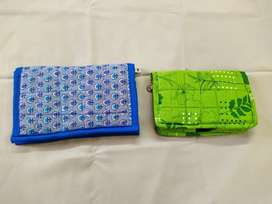 Cotton wallet for women