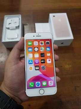 iPhone 7 128GB Rosegold, Original, Normal Jaya, Mulus