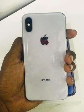 I PHONE X 256GB BRAND NEW CONDITION FULL KIT