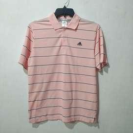01 Kaos Polo Shirt ADIDAS Second Original 101%