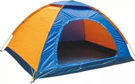 5 Person Parachute Camping Tent - Water Resistant - Multicolor