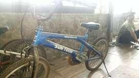 Sepeda BMX siap pakai