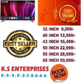 happy diwali mega sale 70% off 50 inch full smart full android led tv