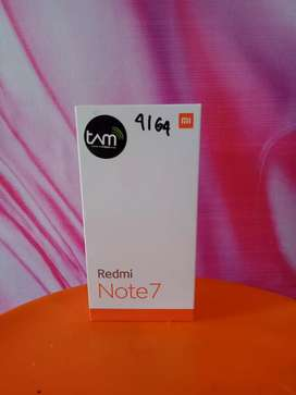 Redmi Note 7 ram 4/64gb Tam √Snap 660√Get Gift