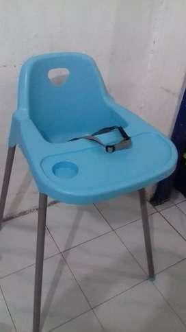 Baby Chair Merk Informa Warna Biru