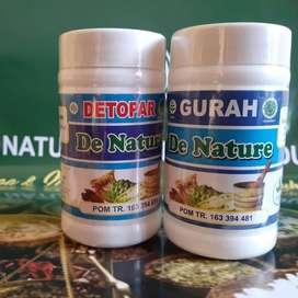 Obat Herbal De Nature Menyembuhkan Asma, Paru Paru Berlendir