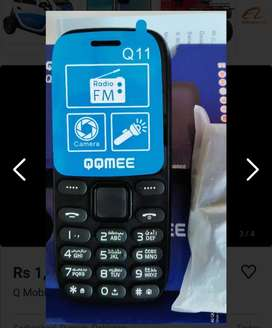 Qqmee Mobile Pin pack with charger 1 year company warranty only 1550