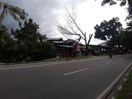 Disewakan Tanah Dan Bangunan di Tepi Jalan Ngumban Surbakti - Medan