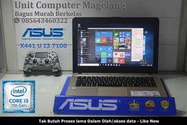Asus X441 U Intel Core i3 3,4 Ghz Kabylake 7  HDD 1TB ram 4 GB ddr4