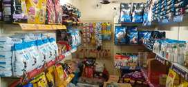 Dog nd cat food available