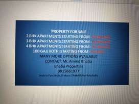 PROPERTY FOR SALE 2 BHK APARTMENTS STARTING FROM -16.90 LAc