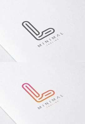 Logo Stationery Kemasan Brosur Design Kartu  12841