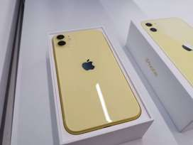 Unused Imported I phone 11 256GB available in cod & emi