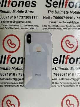 Iphone X 64gb Silver colour