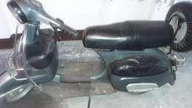 Vintage Bajaj Chetak in showroom condition