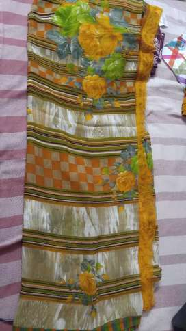 New Soft Saree with blouse for daily wear