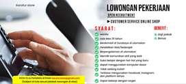 Loker CS Toko Online | Graphic Designer | Digital Marketing