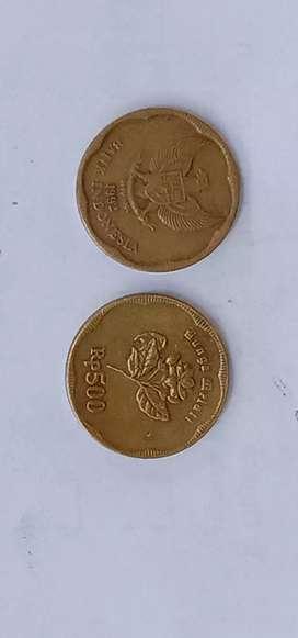Koin antik 500 THN 1992