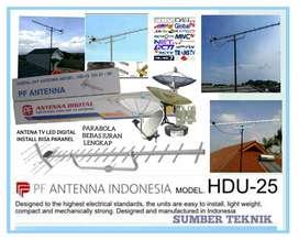 Tukang install pemasangan parabola dan antena TV digital