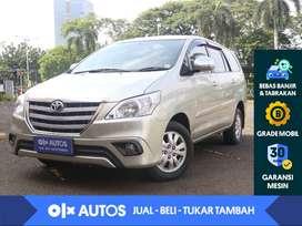 [OLX Autos] Toyota Kijang Innova 2.5 G Diesel Solar A/T 2014 Silver