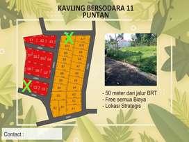 Tanah pinggir jalan puntan gunung pati Semarang