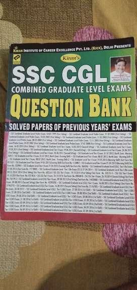 SSC CGL Question Bank ( Kiran publication)