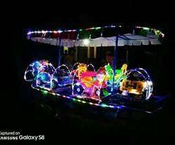 odong odong edisi promo kereta mini coaster NP